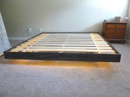 Diy Platform Bed Bedroom Platform Bed Floating Floating Bed Frame Diy Bed