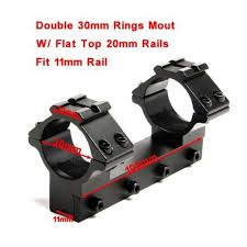 top scope rings images Buy 1pc tactical 30mm scope rings 11mm dovetail jpg