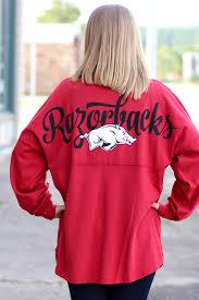 Arkansas Razorback Home Decor by Arkansas Razorback Jersey With Glitter From The Fair Lady Woo