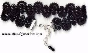black ribbon choker necklace images And ribbon chokers jpg