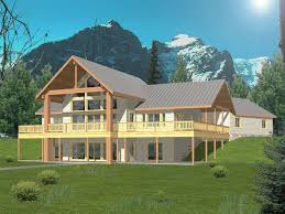 House Plans For Sloping Lots In The Rear Sloping Lot Home Plans House Plans