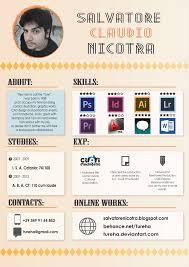 Resume Creative Creative Cv By Tureha On Deviantart
