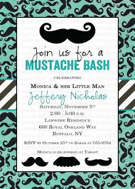 mustache baby shower invitation little man mustache bash gentleman