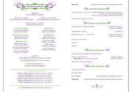free templates for wedding programs catholic wedding program template now printable diy