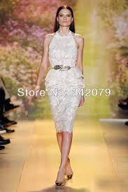 ph03352 spring 2014 couture halter white lace font b dress b font knee length lace font jpg