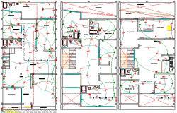 electrical projects data 3d model 2d schematic extensive 3d cad
