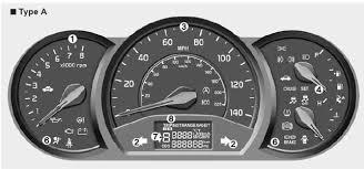 kia warning lights symbols kia rio instrument cluster features of your vehicle kia rio ub