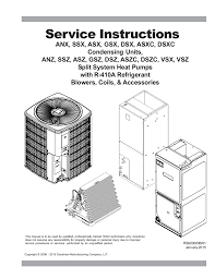 amana ads s8 service manual