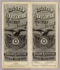 State Fair Of Texas Map by Houston And Texas Central Railway The Handbook Of Texas Online