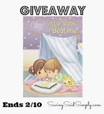 precious moments book bedtime review giveaway
