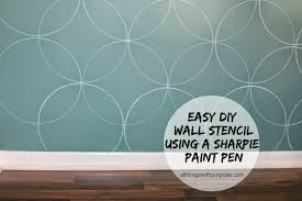 paint stencils for walls wall stencils paint