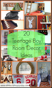 Boy Bedroom Ideas by 20 Teenage Boy Room Decor Ideas A Little Craft In Your Day