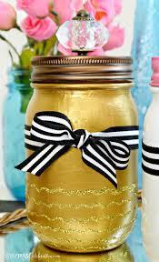 Vanity Supplies Paint U0026 Sparkle Mason Vanity Jars Pinkwhen