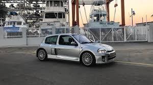 renault clio v6 rally car take home this rare 2003 renault clio v6 for 69k