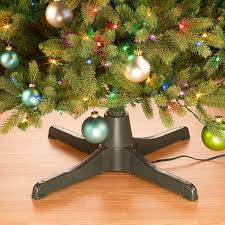 rotating artificial tree stand improvements catalog