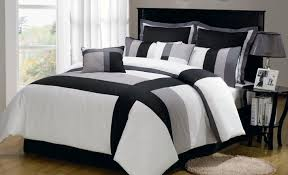 bedding set black white and grey bedding alluring black and