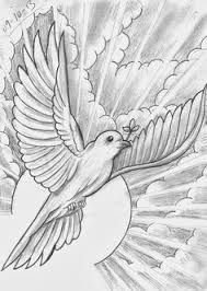 dove flying with clouds tattoo free designs white dove on the