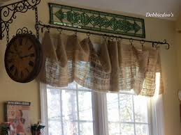 rustic kitchen valances lovely christmas decor in a country french