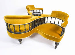 Curved Settees And Sofas by Furniture Comfortable Conversation Settee Flexsteel Digby