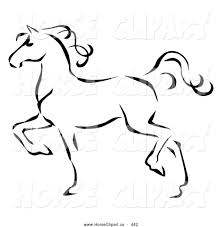 royalty free equestrian stock horse designs