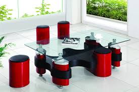 coffee tables brilliant nesting coffee tables designs glass