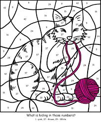 cat color by number wallpaper download cucumberpress com