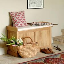 wooden bench with storage white cabinet storage home chair image