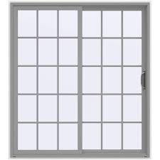 blinds between the glass patio doors exterior doors the home