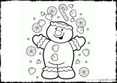 christmas coloring pages adults gingerbread house 12