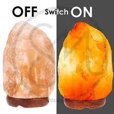 himalayan light salt crystal l himalayan natural salt rock light l ionic crystal air purifier l