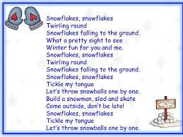 104 best winter poetry songs images on preschool