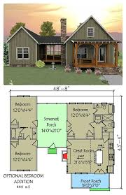 Floor Plan Of A 2 Bedroom House This Unique Vacation House Plan Has A Unique Layout With A