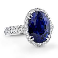 blue gemstones rings images Colored engagement rings meaning brides jpg