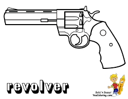 gun coloring pages kids coloring free kids coloring