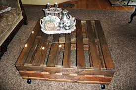 creative juices decor diy pallet coffee table adds character and