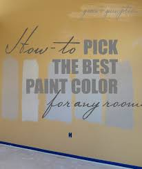 how to pick the perfect paint color grace gumption