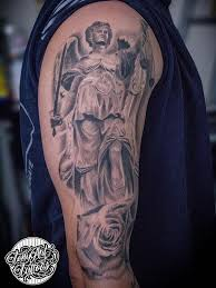 lady justice angel wings custom the guardian by tony tapia tattoos