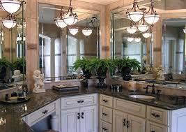 White Cabinets Brown Granite by Tropic Brown Granite