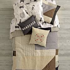 cozy contemporary quilt the land of nod