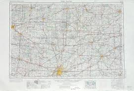 Map Of Michigan City Indiana by Ft Wayne Topographic Maps In Oh Mi Usgs Topo Quad 41084a1 At
