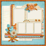 templates for scrapbooking retro family album 365 project scrapbooking templates
