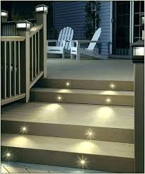 Step Lights Led Outdoor Outdoor Step Lights Battery Powered Outdoor Stair Lights For Paved