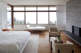 furnitures master bedroom features white leather modern daybed