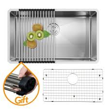 Stainless Steel Grid For Kitchen Sink by Great Single Bowl Dish Drying Rack And Dish Grid Undermount