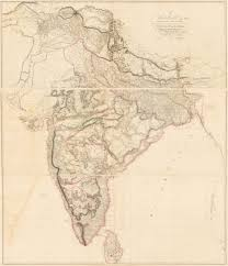 Map Of Southern Asia by To Mark Wood Esqr M P Colonel Of The Army In India Late Chief