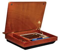 lapgear schoolhouse wood lapdesk w storage 45075 ca