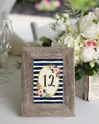 silver frames for wedding table numbers 35 most appealing wedding table number ideas everafterguide