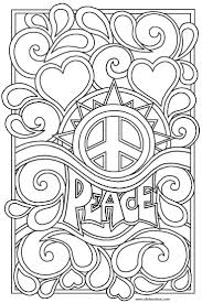 29 best peace coloring images on pinterest mandalas peace signs