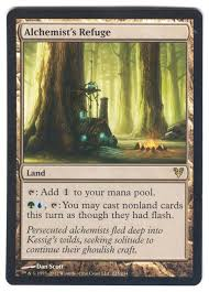 Seeking Card Cast Magic The Gathering Adventures Tutorial 2 Land Cards Basic And