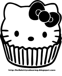 kitty skull coloring pages kitty coloring pages